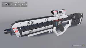 [SketchUp] AURARMS XR1 Plasma Rifle