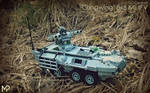 [LEGO] Stingwing 8x8 Missile-equipped IFV