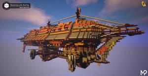 [Minecraft] Steampunk Airship