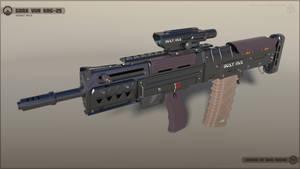 [SketchUp] Gora Vur KRG-25 Assault Rifle