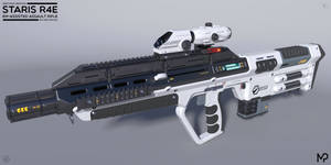[SketchUp] Staris R4E EM-Assisted Assault Rifle