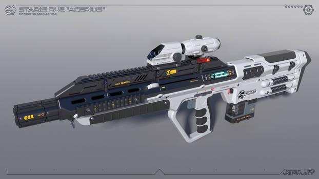 [SketchUp] Staris R4E 'Acerius' EM-Assisted Rifle