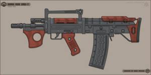 [Inkscape] Gora Vur KRG-7 Assault Rifle