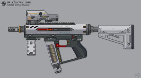 [Inkscape] Staris J7I 'Keshtan' SMG