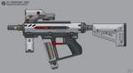 [Inkscape] Staris J7I 'Keshtan' SMG by MikePrivius