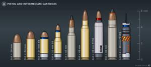 [Inkscape] Pistol and Intermediate Cartridges