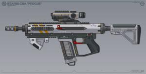 [Inkscape] Staris C6A 'Frixus' Assault Rifle