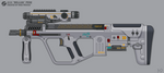 [Inkscape] Staris J11I 'Bellua' PDW by MikePrivius