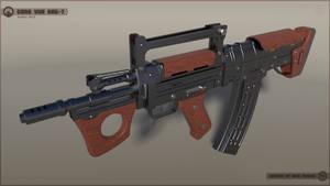 [SketchUp] Gora Vur KRG-7 Assault Rifle