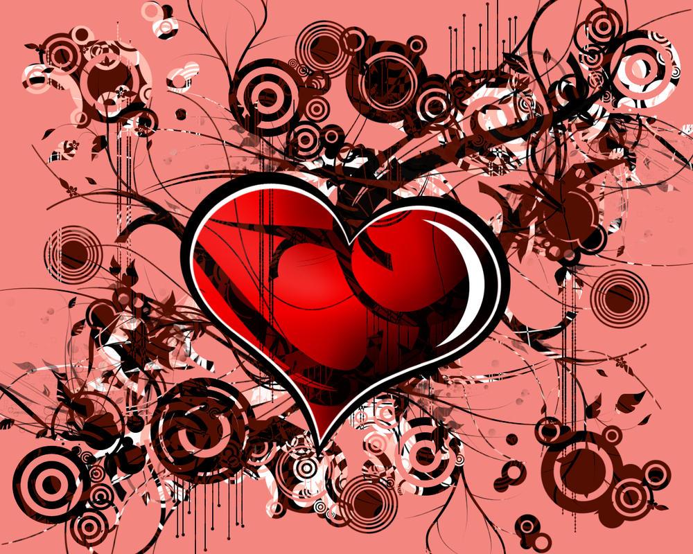Love Wallpaper Art : Abstract Love by AnorexicFaggot on DeviantArt