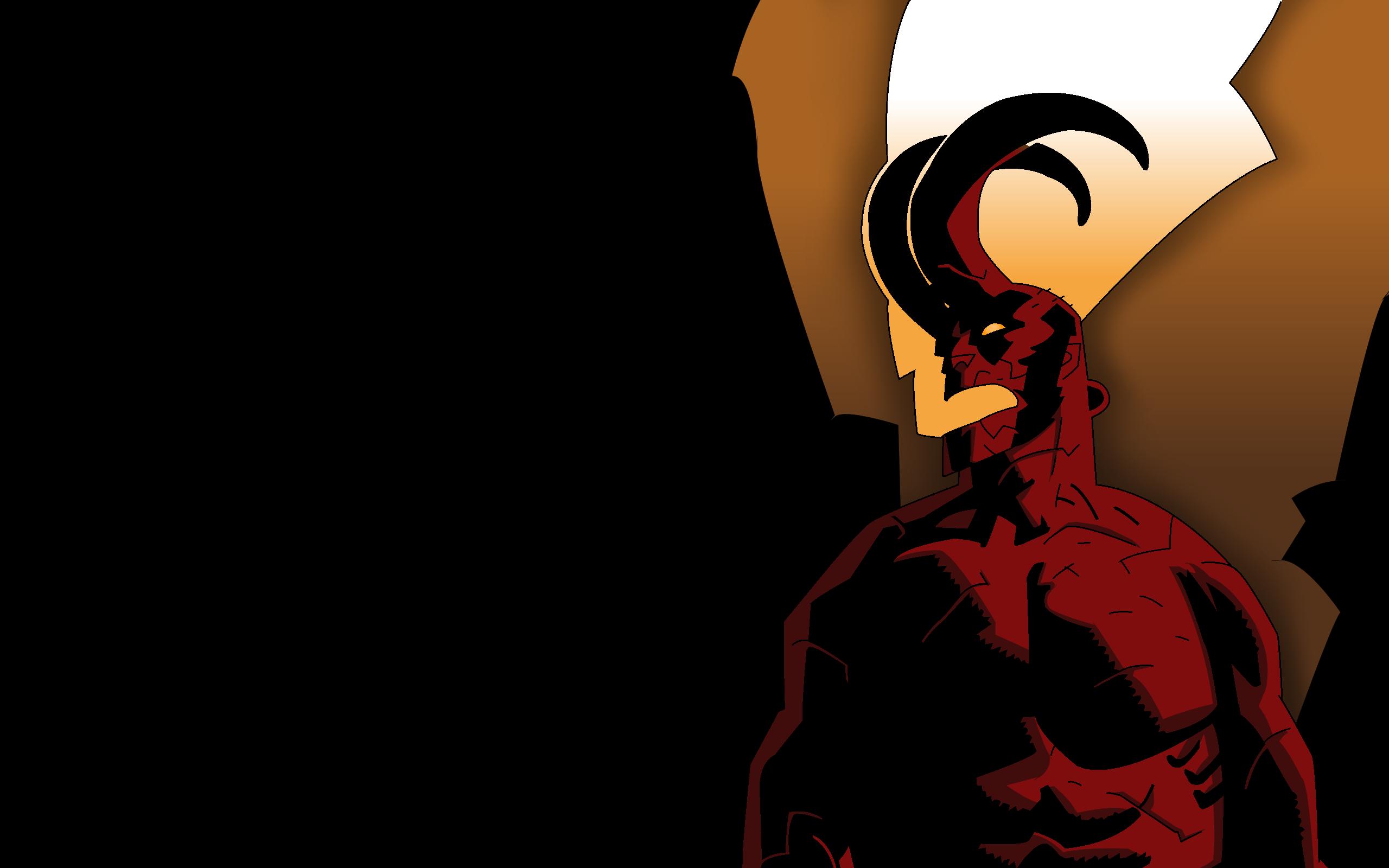 wake the devil hellboy wallpaper by cameronart on deviantart