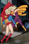 Supergirl trap p2 - commission