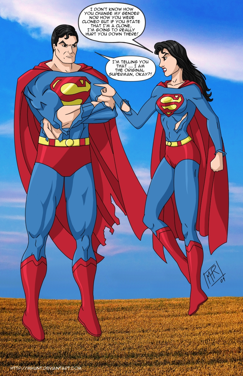 Because if any DC Supergirl is a decent match for the show ...   Original Superwoman
