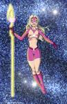 Star Sapphire Star Girl - commisison