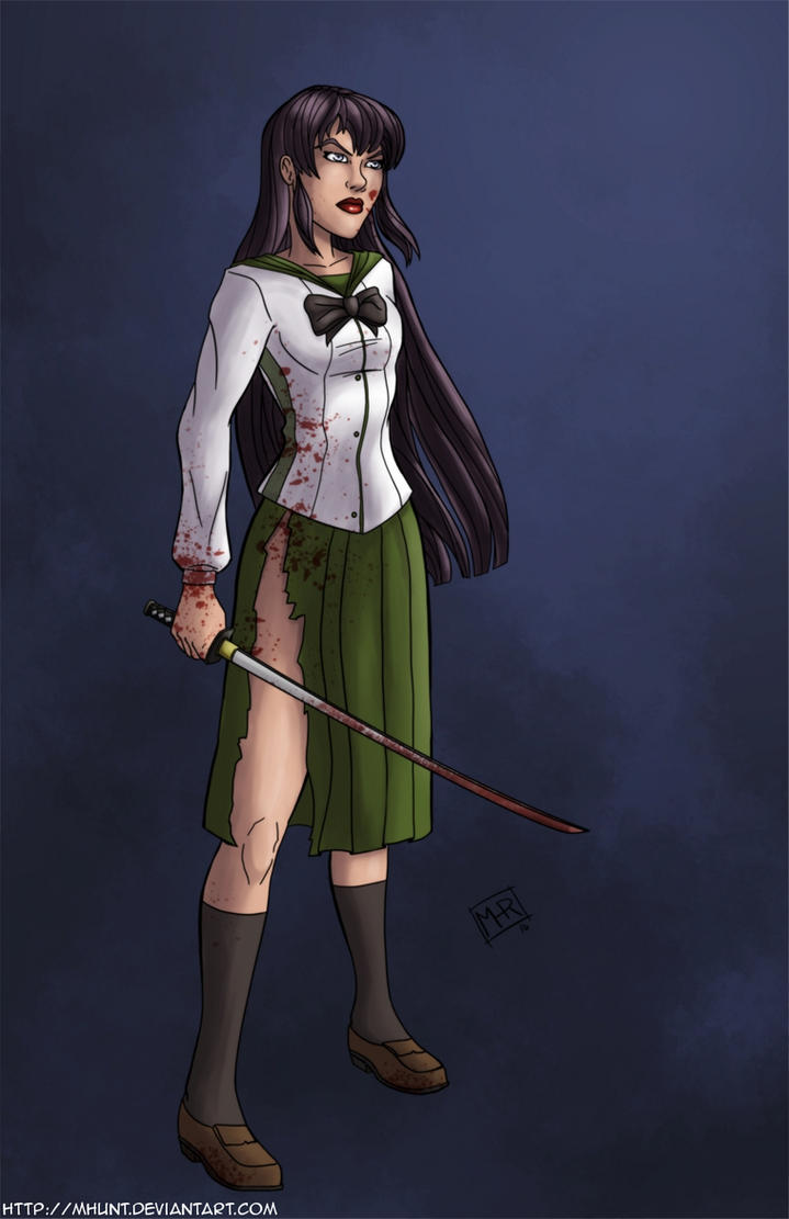 Saeko Busujima by mhunt