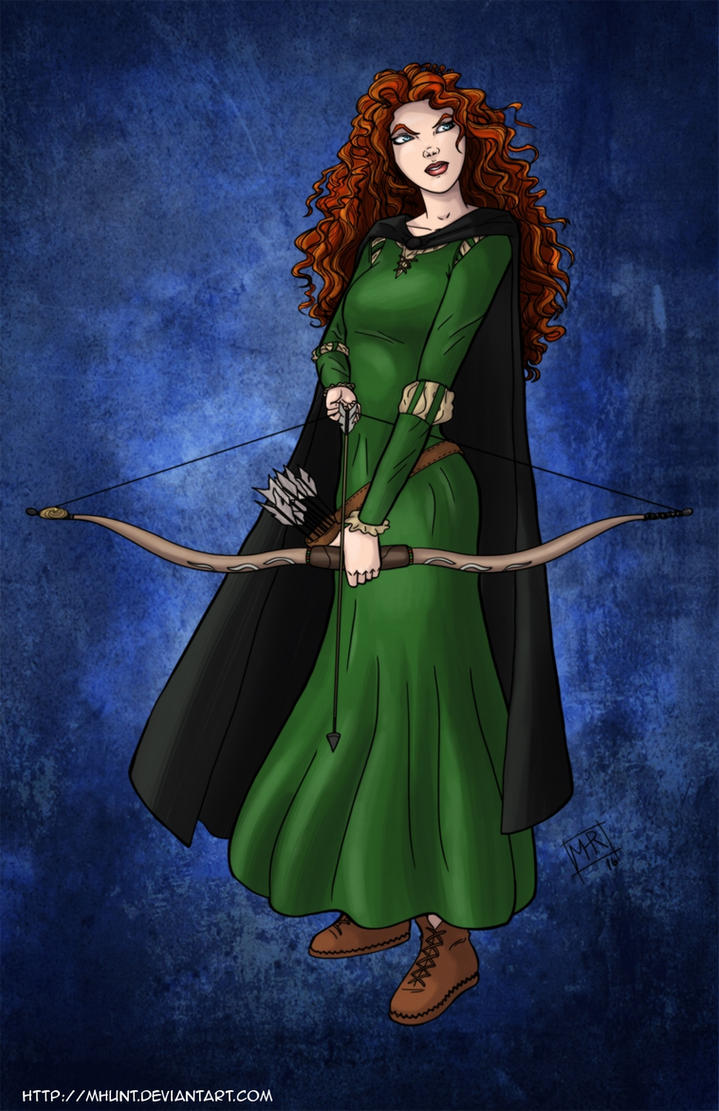 Princess Merida by mhunt