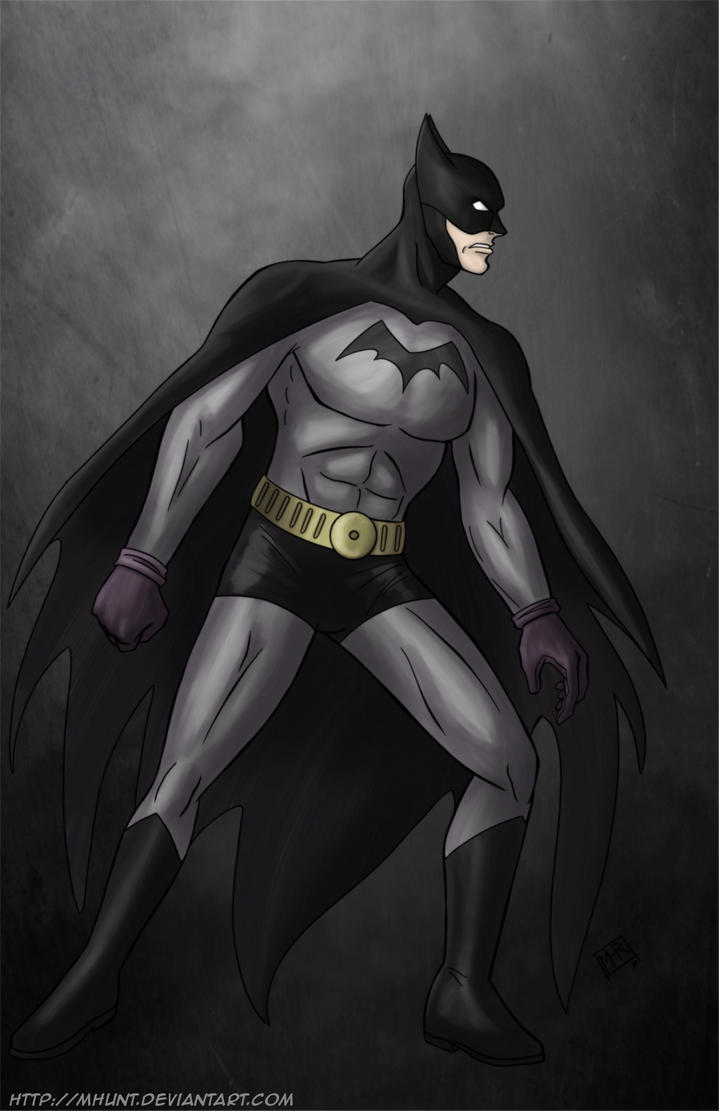 Batman - 40s by mhunt