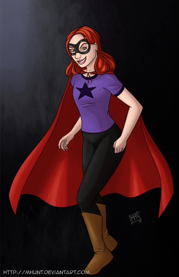 Superhero Girl by mhunt