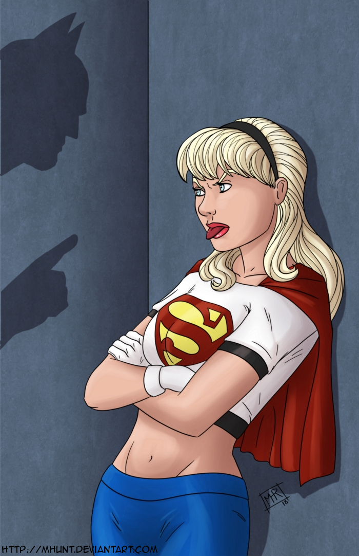 Supergirl lectured.. by mhunt