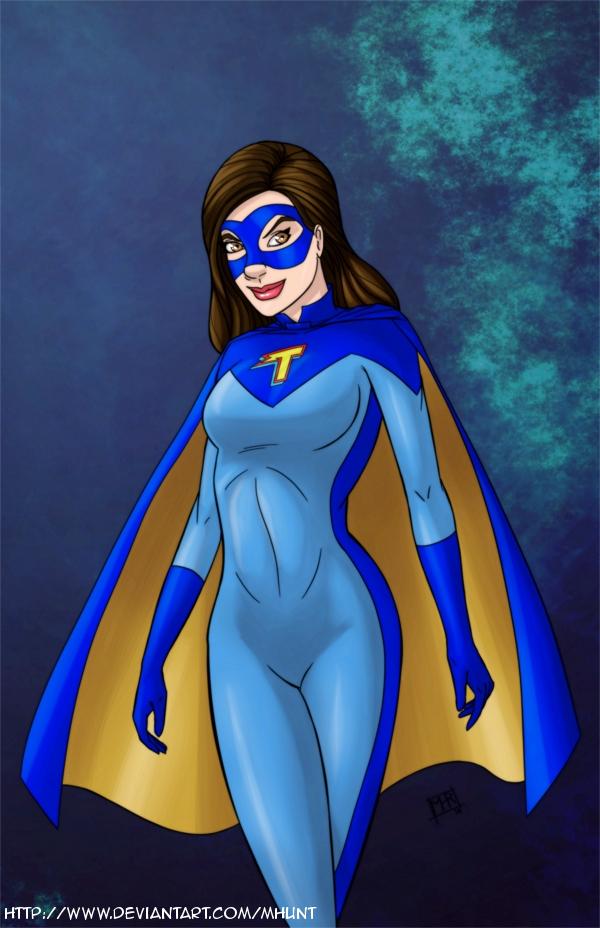 Phoebe Thunderman aka Thundergirl  -  commission by mhunt