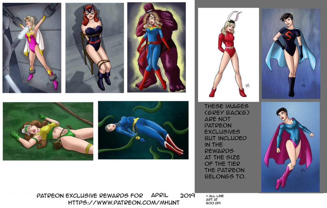 Patreon Rewards for April 2019 by mhunt