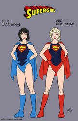 Super Twins - redesign commission