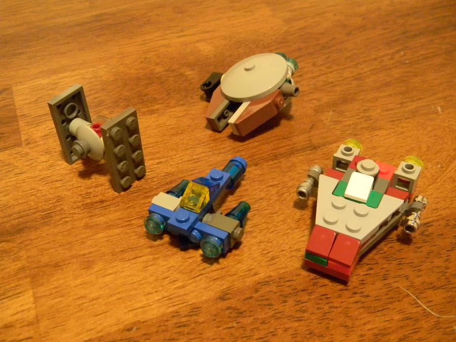 art lego star wars minikit