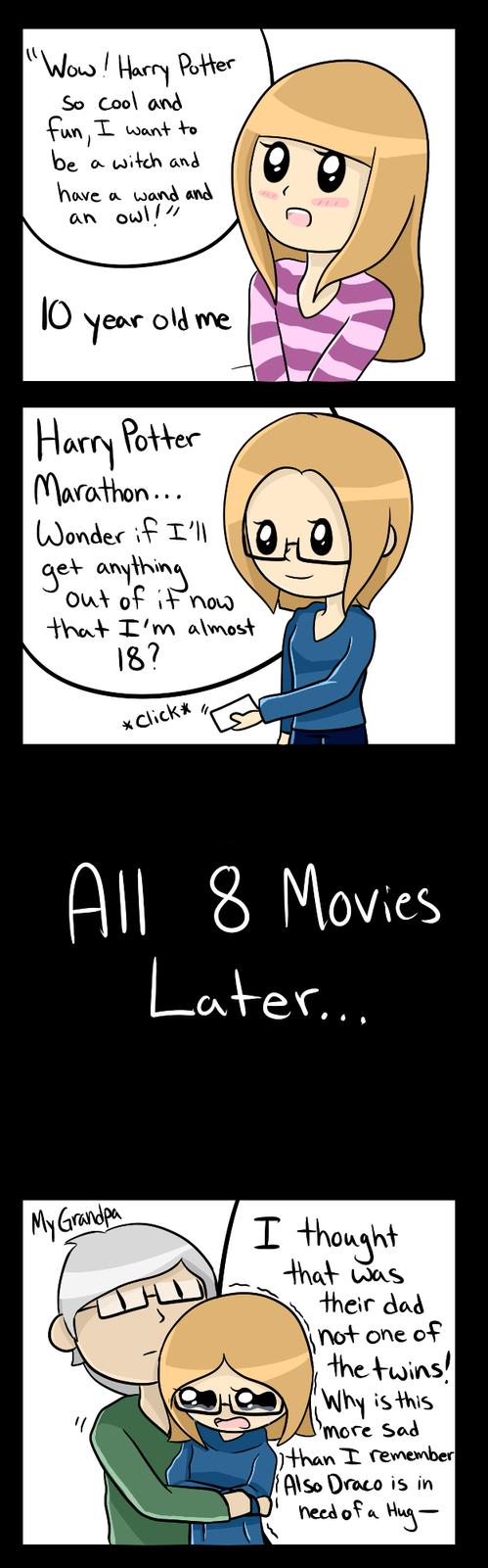 Comic: Harry Potter Before and After by Hanna-You-Do