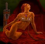 Slave-Teela MOTU (detail)