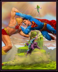 He-man vs Supeman