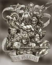 Evil Warriors,jpg by AyotaArtwork