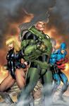 DCU Online: Legends 6 cvr
