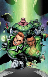 Green Lantern Corps cvr 1