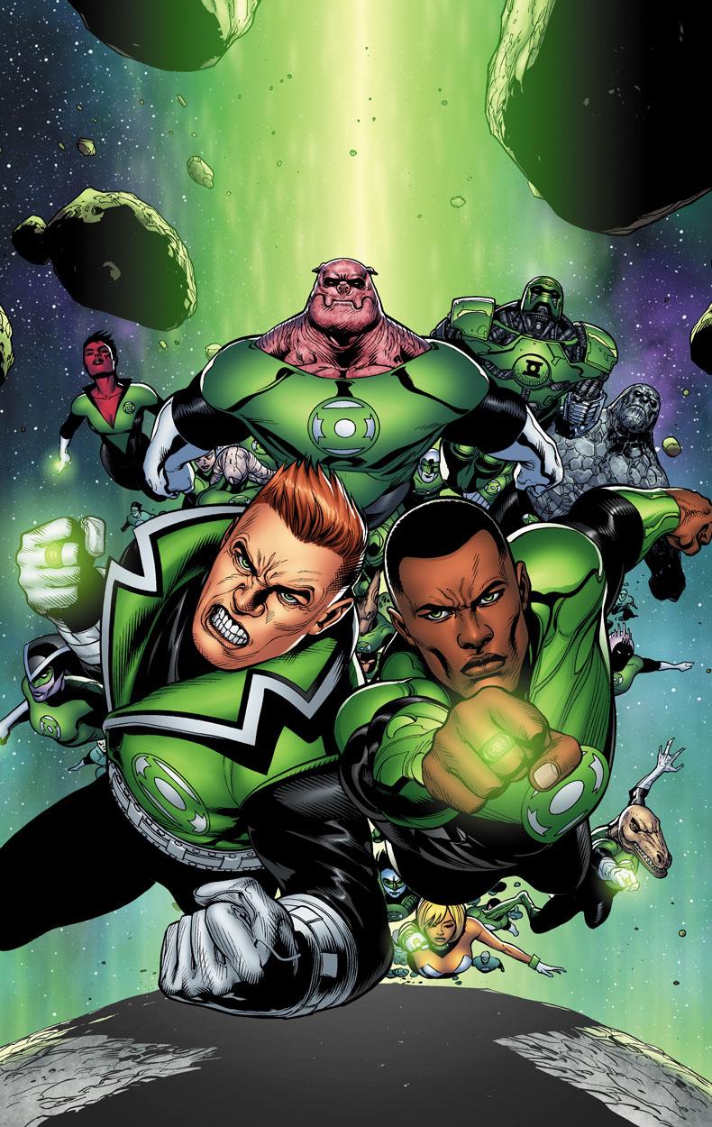 Green Lantern Corps cvr 1 by perpetualpanda