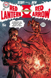 Fringe Red Arrow Red Lantern