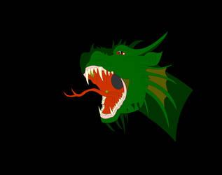 Dragon by AmaziumBlaze