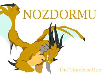 Nozdormu The Timeless One by AmaziumBlaze