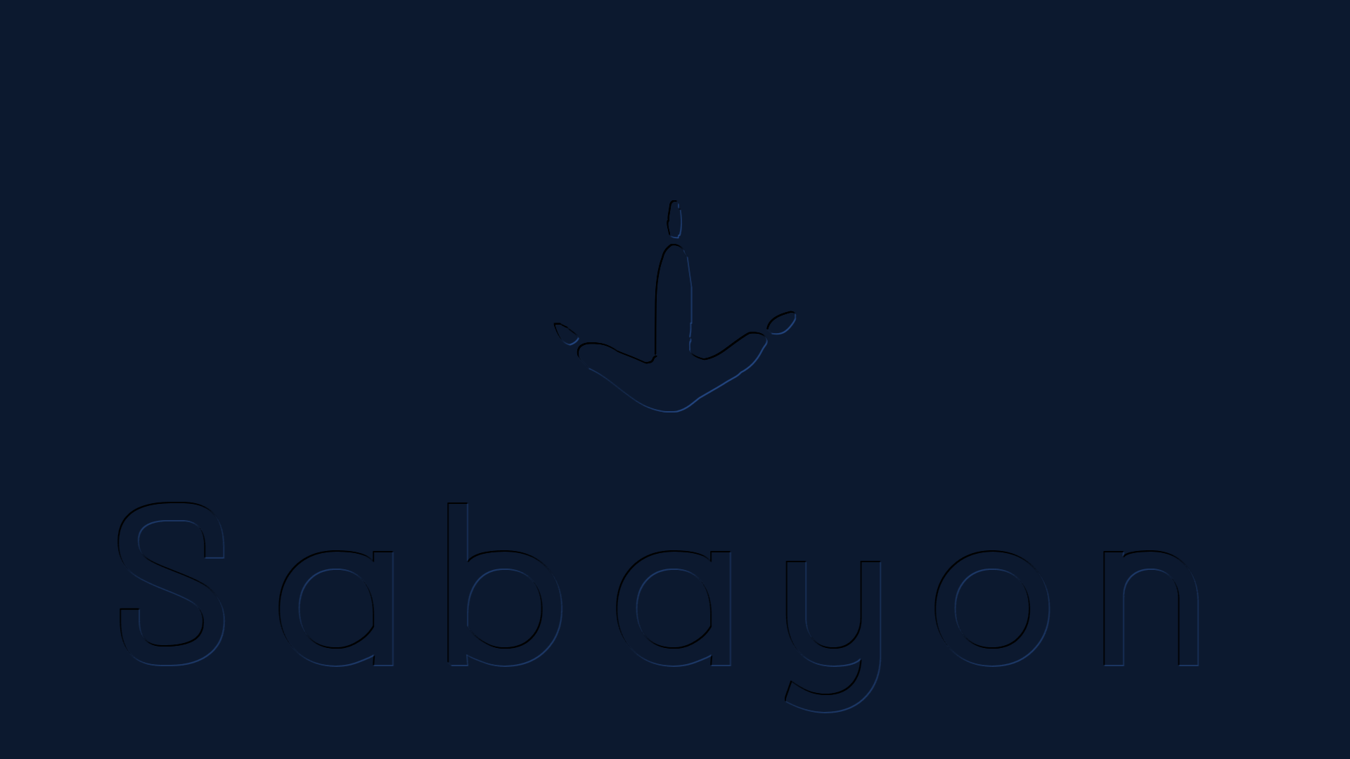 Sabayon (Original) Linux Wallpaper blue by Lukazoid