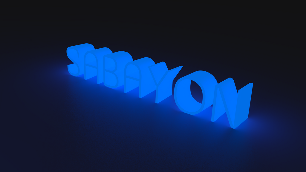 Sabayon linux wallpaper from Blender by Lukazoid