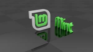Mint linux wallpaper Blender by Lukazoid