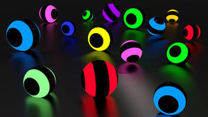 Ball wallpaper color Blender by Lukazoid