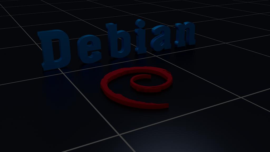 Debian Linux wallpaper Blender by Lukazoid