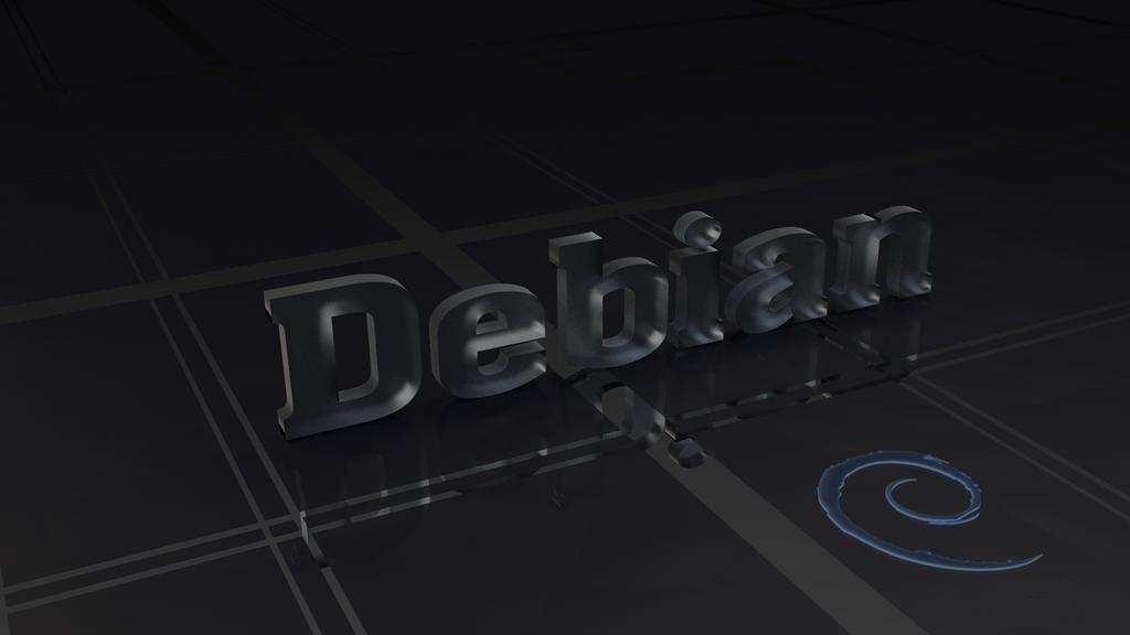 Debian Ice Wallpaper by Lukazoid