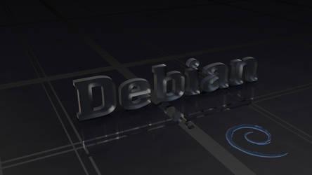 Debian Ice Wallpaper