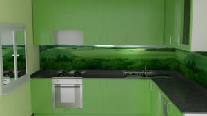 Kitchen green by Lukazoid