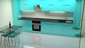 kitchen Neon by Lukazoid