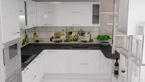 Kitchen White Coner