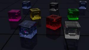 Cube Glass by Lukazoid