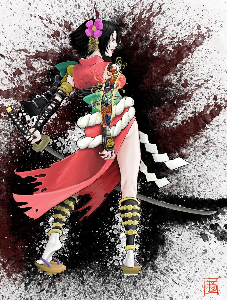 Samurai Concept by Twanneman