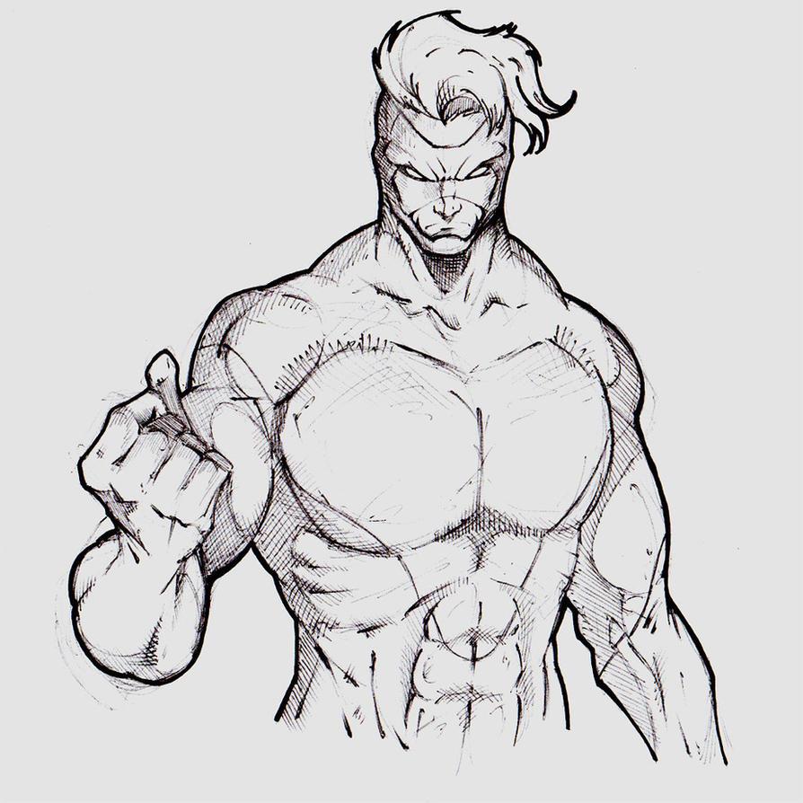 Russian superhero by SaintYak